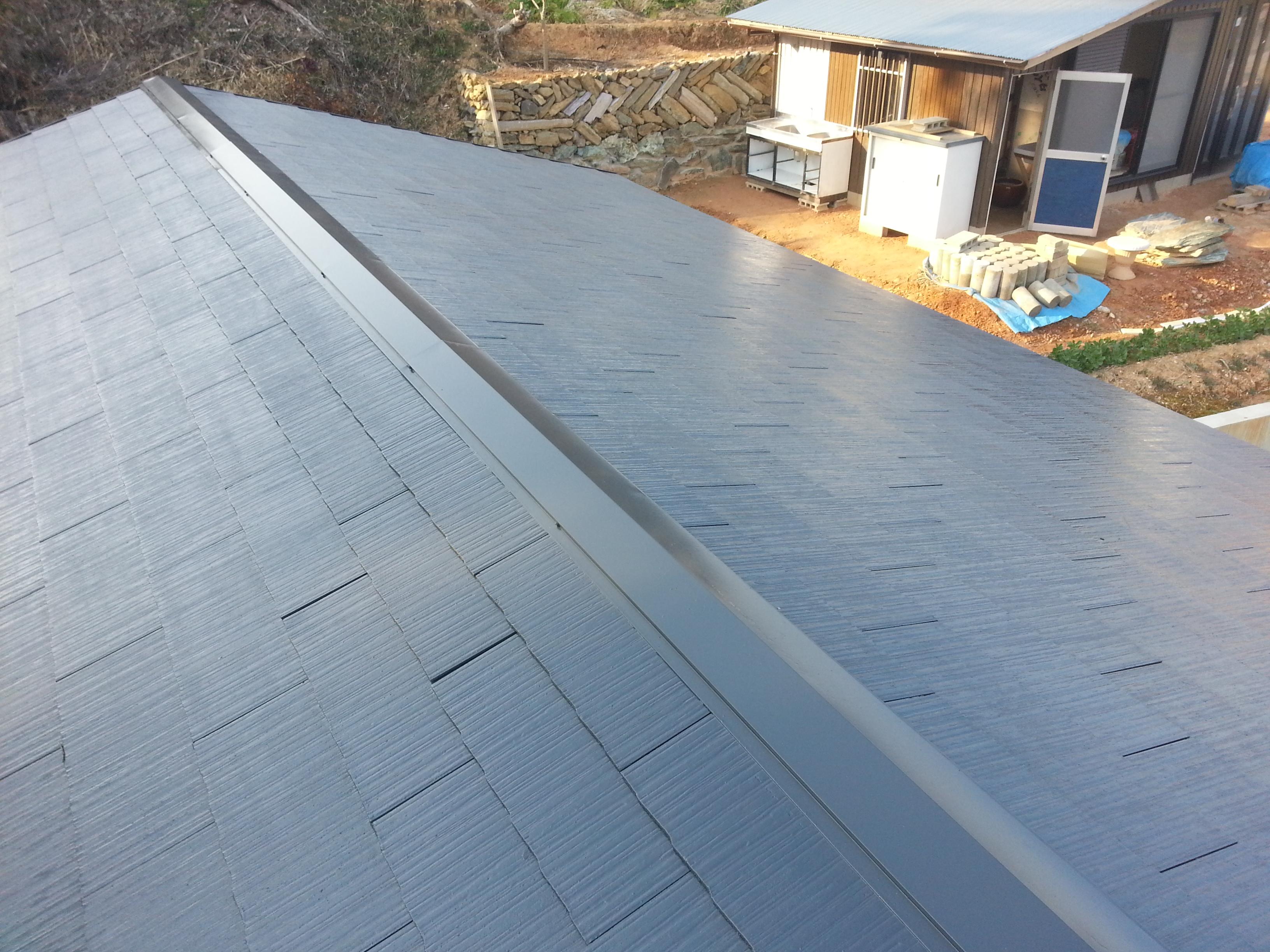 屋根 光沢 塗装