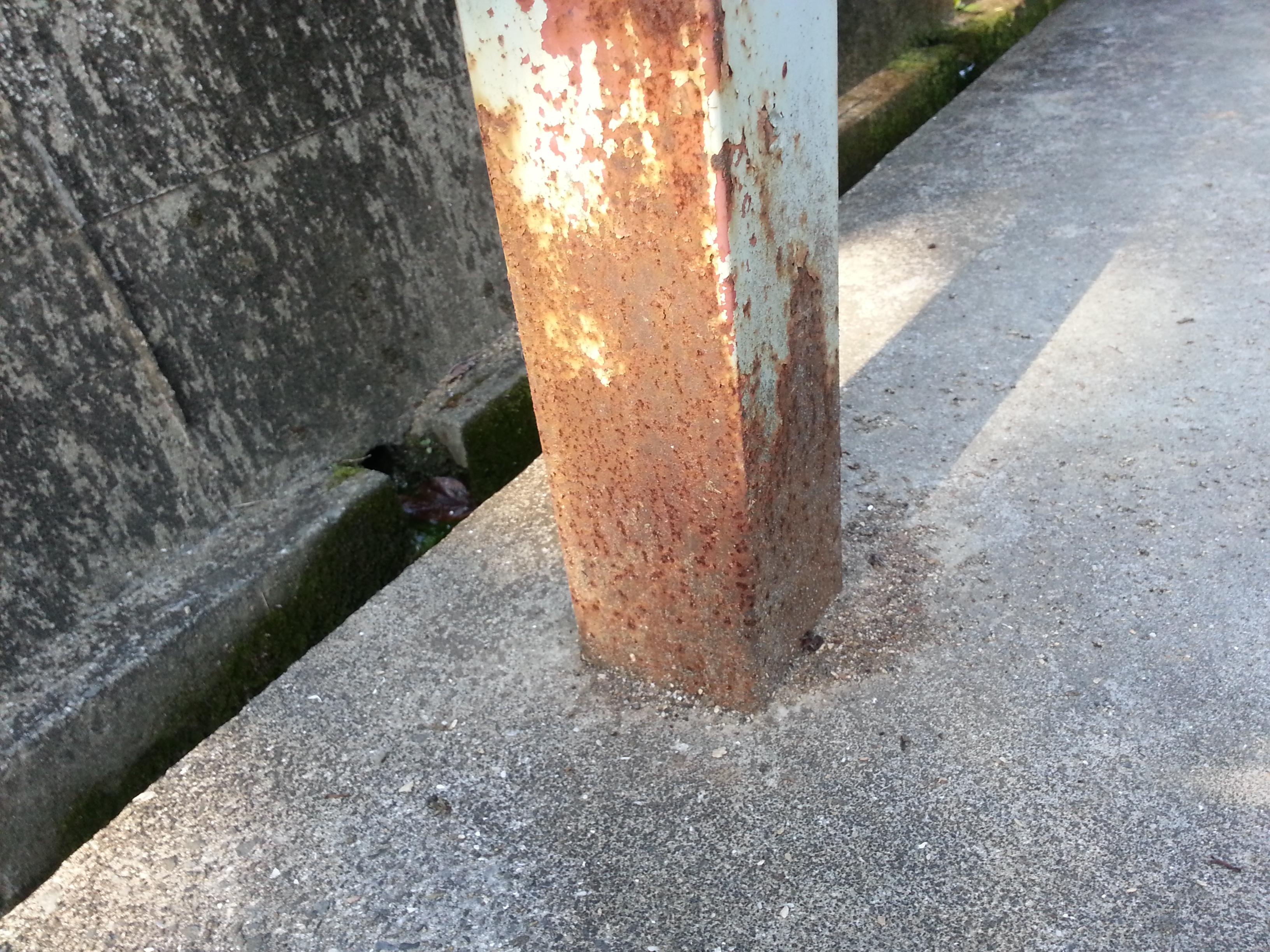 コンクリート 錆び止め